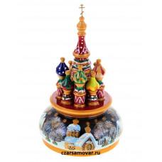 Русский сувенир Музыкальный собор (зима)