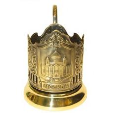"""Подстаканник латунный """"Храм Христа Спасителя"""""""