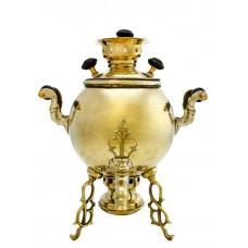 Самовар антикварный 3 литра шар, фабрика П. В. Салищева