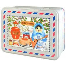 """Чай """"Русские сувениры"""" в шкатулке с магнитом 50 гр."""