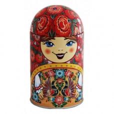 Чай Матрешка сувенирная с павлинами 40 гр.
