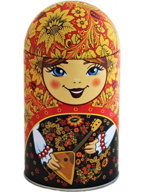 Чай Матрешка сувенирная с балалайкой 40 гр.