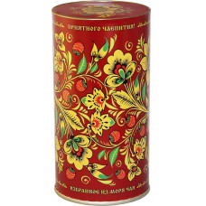 """Чай """"Русские узоры - Хохлома"""" сувенирный 75 гр."""