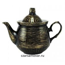 """Заварочный чайник с художественной росписью """"Золотые нити"""""""
