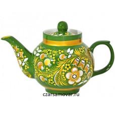 """Заварочный чайник с художественной росписью """"Ландыши"""""""