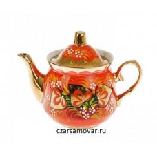 """Заварочный чайник с художественной росписью """"Глухарь"""""""