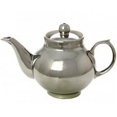 Керамический чайник для заваривания с напылением под серебро