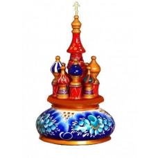 Русский сувенир Музыкальный собор (гжель)