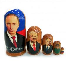 "Матрешка ""Путин"" 5 мест"