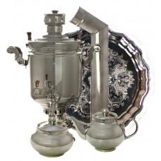 Набор угольный никелированный 5 литров банка