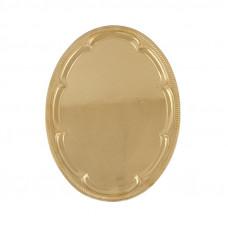 Поднос овальный «Золотые узоры»